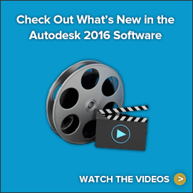 Check out what's new in the Autodesk 2016 software. Watch the videos.