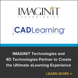 IMAGINiT Technologies and 4D Technologies Partner to Create the Ultimate eLearning Experience
