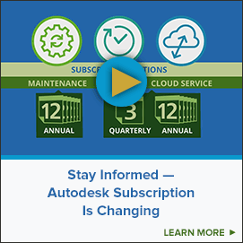 Stay Informed - Autodesk Subscription is Changing