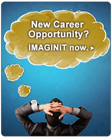 New Career Opportunity? IMAGINiT now.