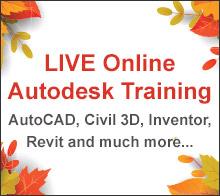 LIVE Online Autodesk Training Classes