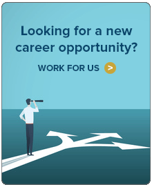 Looking for a new career opportunity? Work for us.