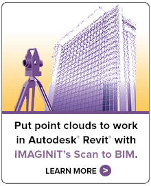 Put point clouds to work in Autodesk Revit with IMAGINiT's Scan to BIM. Learn more.