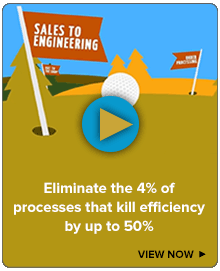 Eliminate the 4% of processes that kill efficiency by up to 50%