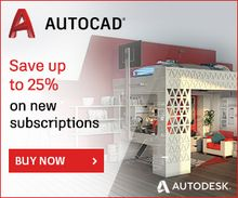 Save up to 25% on AutoCAD
