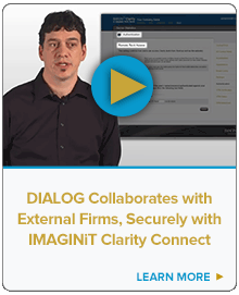 DIALOG Collaborates with External Firms Securely with IMAGINiT Clarity Connect