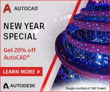 New Year Special: Get 20% off AutoCAD