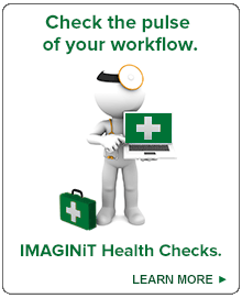 Check the pulse of your workflow. IMAGINiT Health Checks.