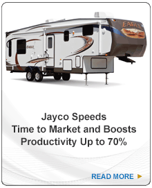 Jayco Speeds Time to Market and Boost Productivity 70%. Read more.