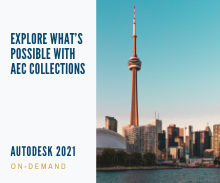 What's New in AEC Collection for Infrastructure On-Demand