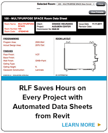 RLF Saves Hours on Every Project with Automated Data Sheets from Revit