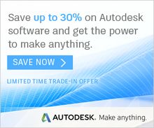 Save up to 30% on Select Autodesk Software