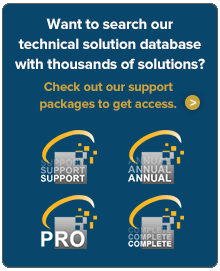 Want to search our technical solution database with thousands of solutions?